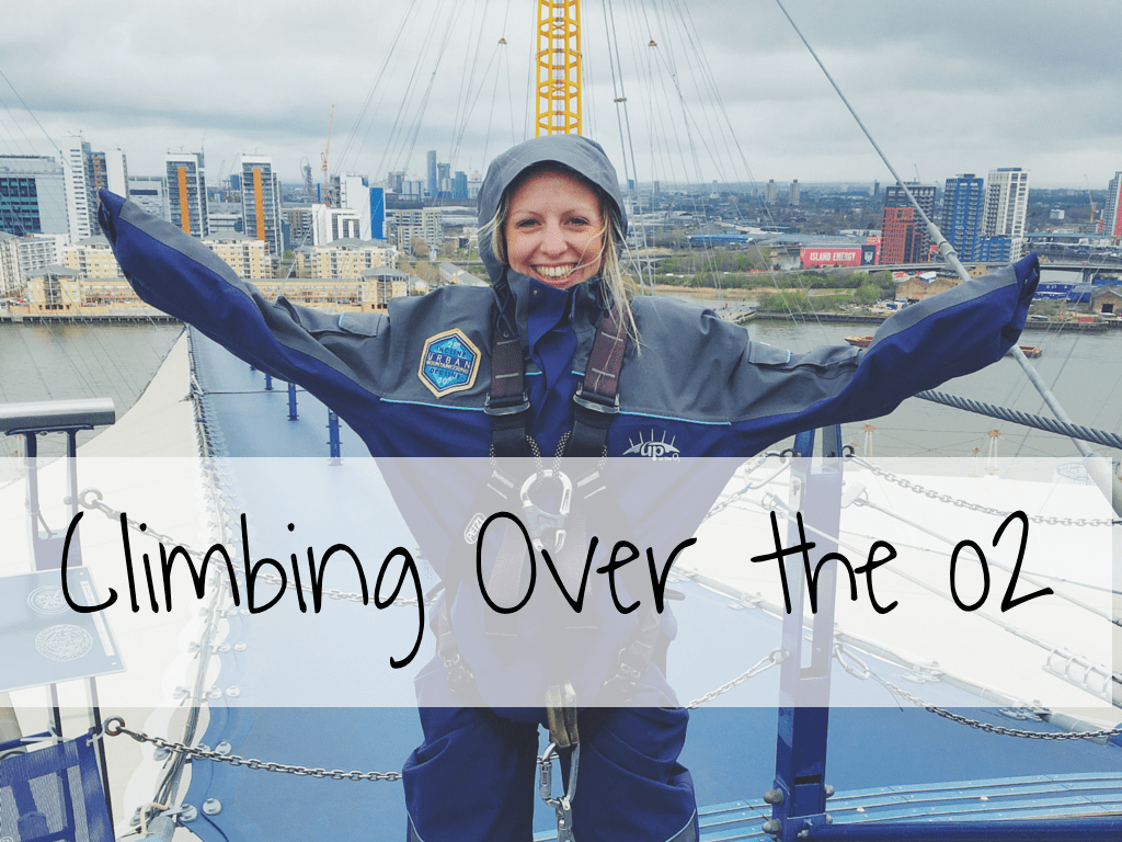 Climbing Over the o2 in London
