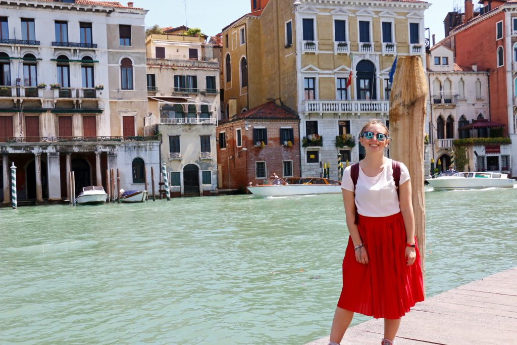 What I Wore in Venice, Italy