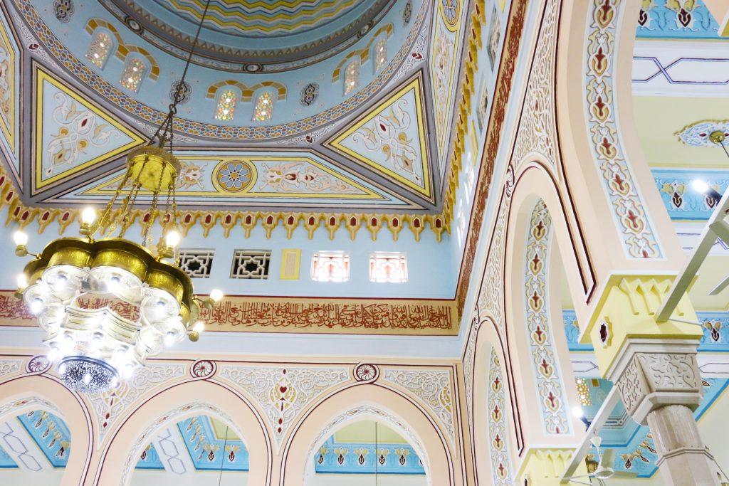 inside Jumeriah Mosque - 2 day itinerary for dubai