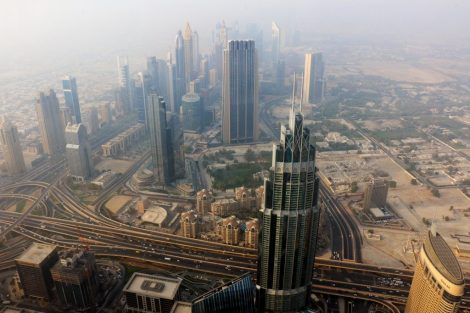 views from Burj Khalifa - 2 day itinerary for dubai