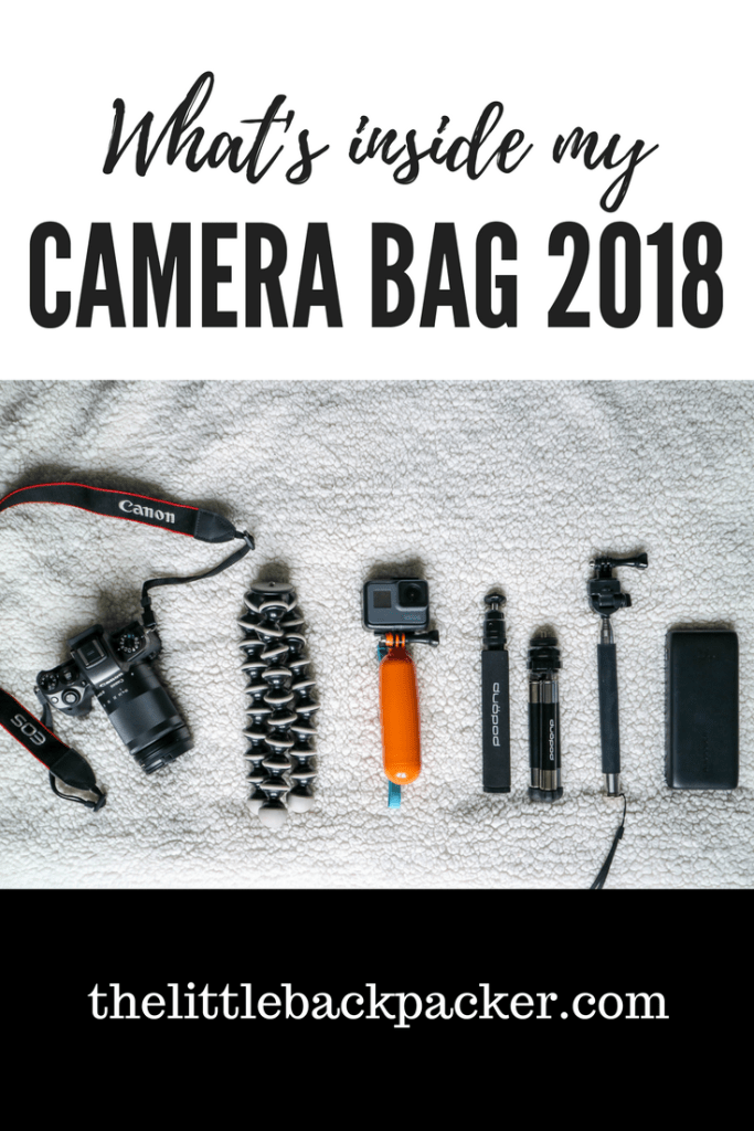 What's Inside My Camera Bag 2018