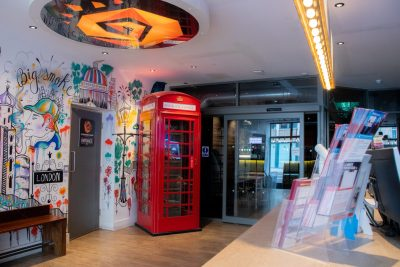 Pod hostel at St Christopher's The Village London