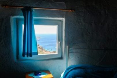 Staying in a windmill in Mykonos