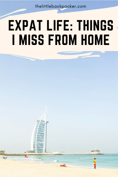 expat life - things I miss from home