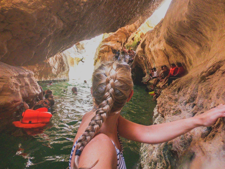 Visit Wadi Shab Cave