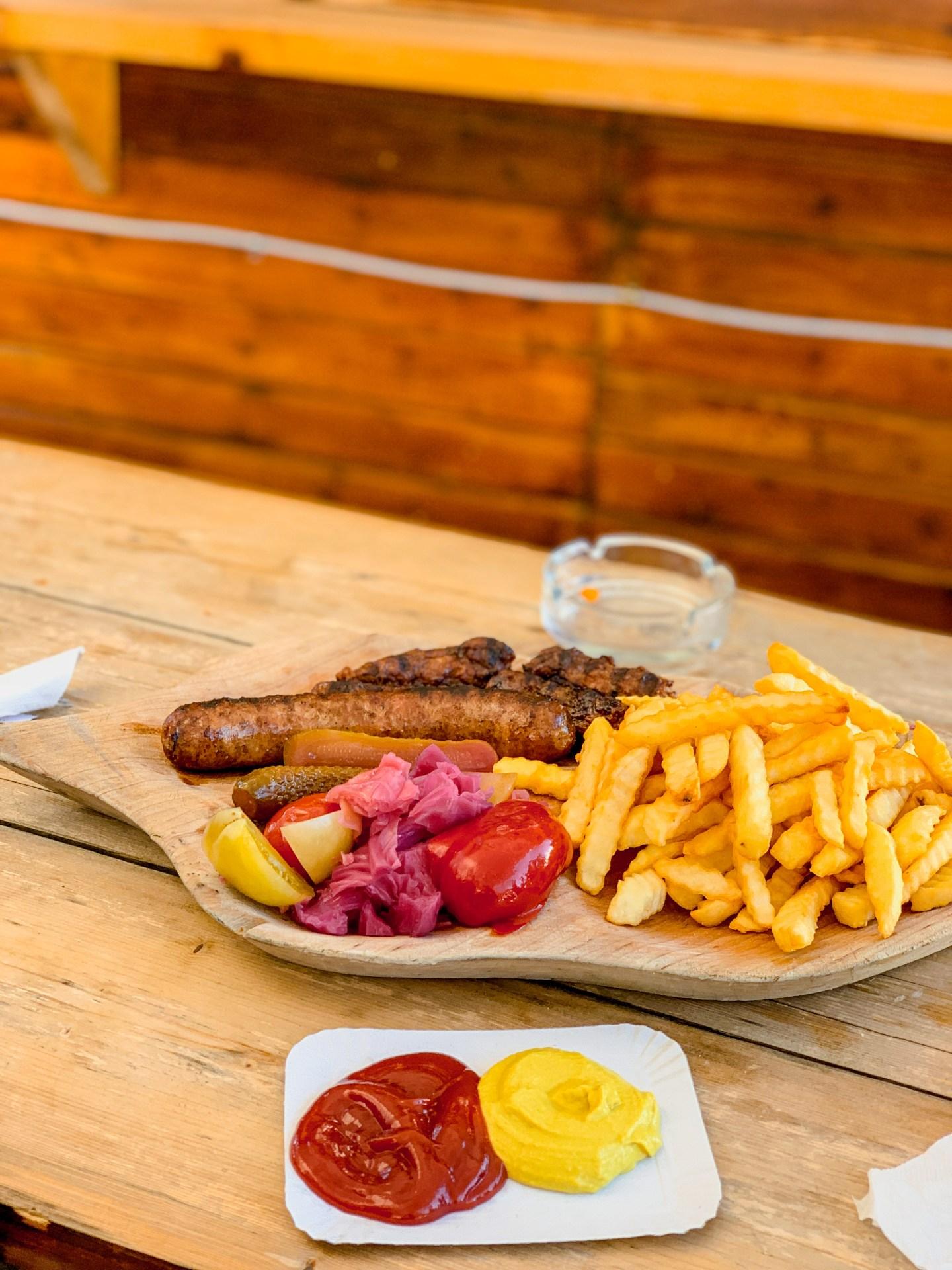 food in Poiana Brasov