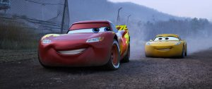 Lightning McQueen and Cruz Ramirez cars 3