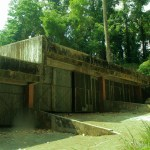 An old abandoned building on the way to Mt. Makiling.