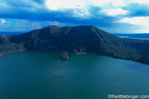 The Taal Lake and its crater