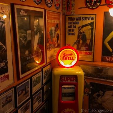 retro feel FIlling Station Makati