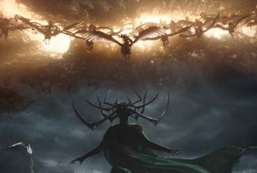 Cate Blanchett as Hela in Thor Ragnarok.