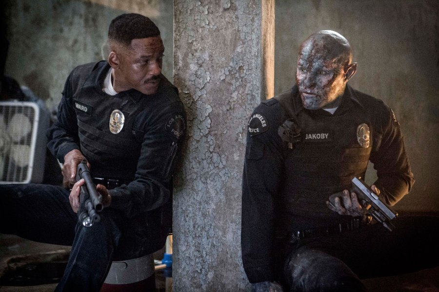 Will Smith as Officer Daryl Ward in Netflix's Bright   Photo: Netflix