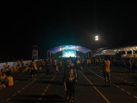 Runners were treated to a concert feautring Star Magic artists after the run! #SunLifeResolutionRun