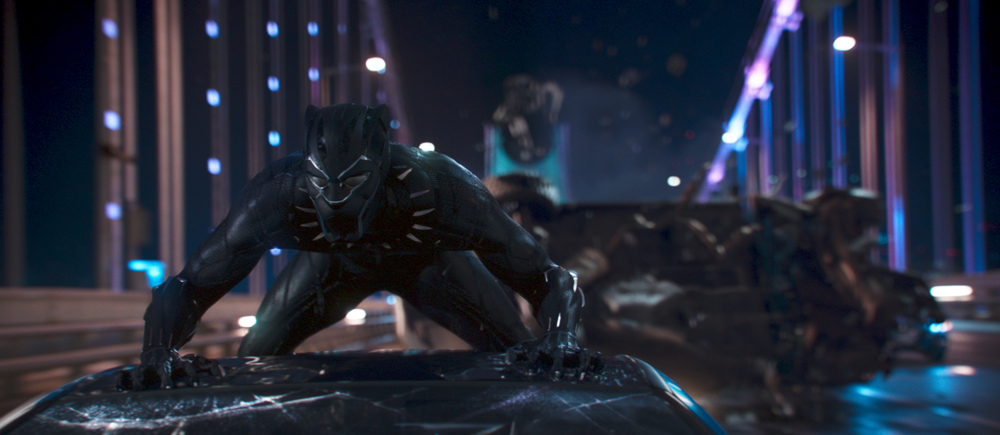 Marvel Studios' BLACK PANTHER. Black Panther/T'Challa (Chadwick Boseman). Ph: Film Frame. ©Marvel Studios 2018 | Credit: Marvel Studios