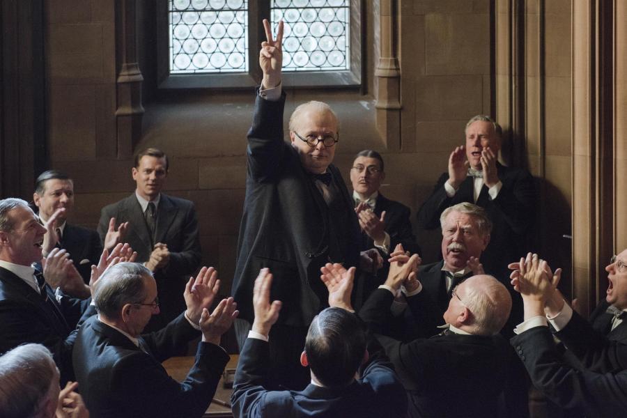 Gary Oldman as Winston Churchill in The Darkest Hour. | Photo: Focus Features