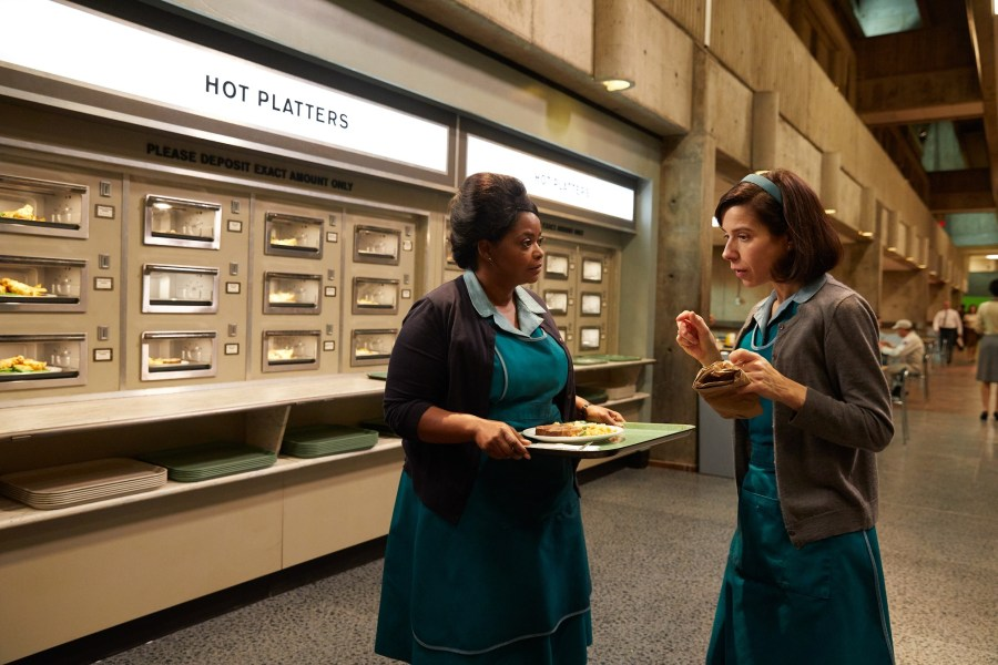 Sally Hawkins and Octavia Spencer in The Shape of Water | Credits: 20th Century Fox
