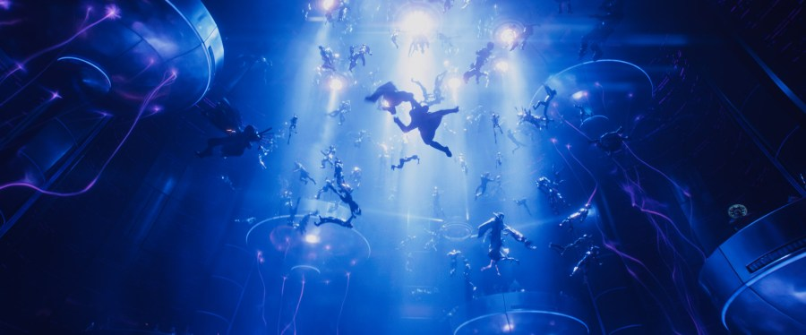 Spielberg creates a world of virtual fantasy in Ready Player One.