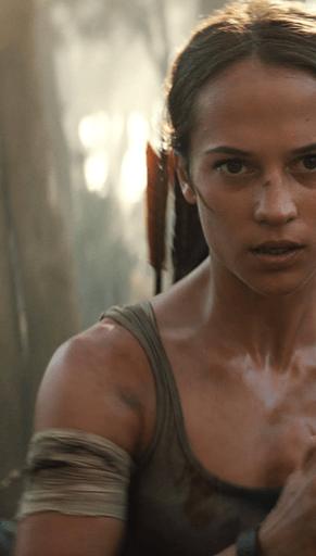 Alicia Vikander takes on an adventure in Tomb Raider.