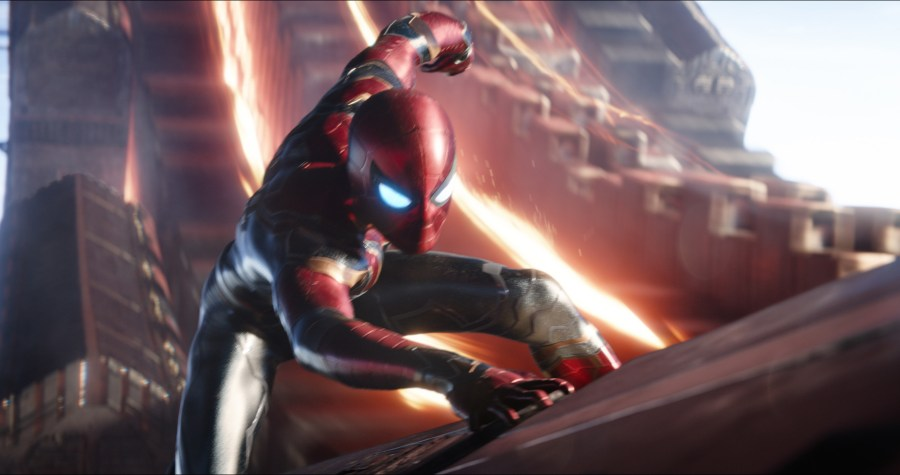 Is it the Iron Spider suit in Avengers: Infinity War. | Credit: Marvel Studios