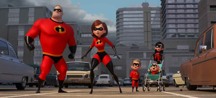 The Parrs return in The Incredibles 2 to once again save the city!