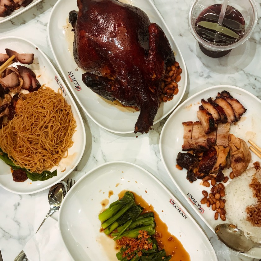 It's a feast for the fraction of the price at Hawker Chan Philippines.
