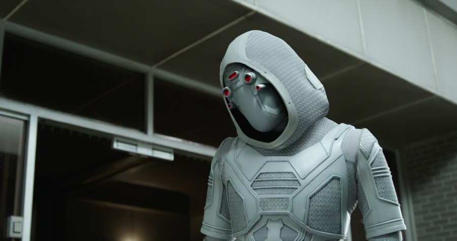 Ghost (Hannah John-Kamen) is a threat in Ant-Man and the Wasp.   Credit: Marvel Studios