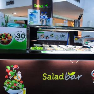 Dieters will love Salad Bar!