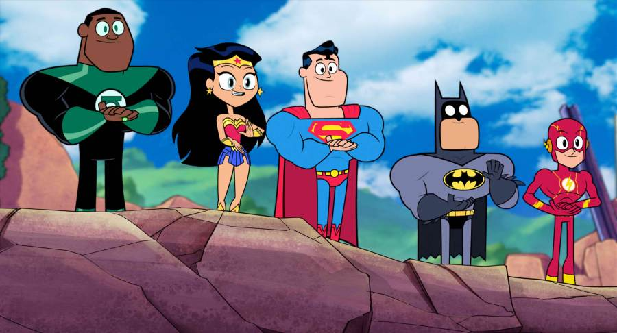 Superheroes unite in Teen Titans Go To the Movies! | Credit: Warner Bros. Pictures