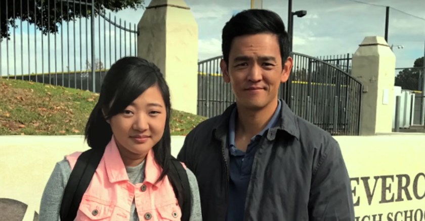 John Cho and Michelle La in Searching. | Credit: Columbia Pictures