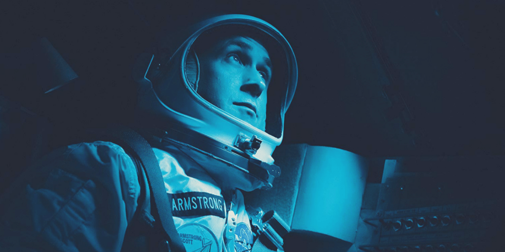 Ryan Gosling is Neil Armstrong in First Man.   Credit: United International Pictures