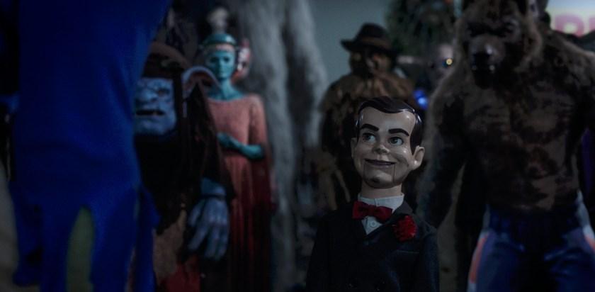 Slappy brings Halloween to life in GOOSEBUMPS 2: HAUNTED HALLOWEEN. | Credit: Columbia Pictures