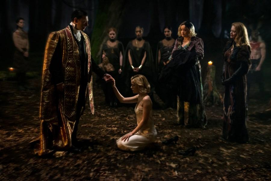 Things got dark in CHILLING ADVENTURES OF SABRINA.   Credit: Netflix
