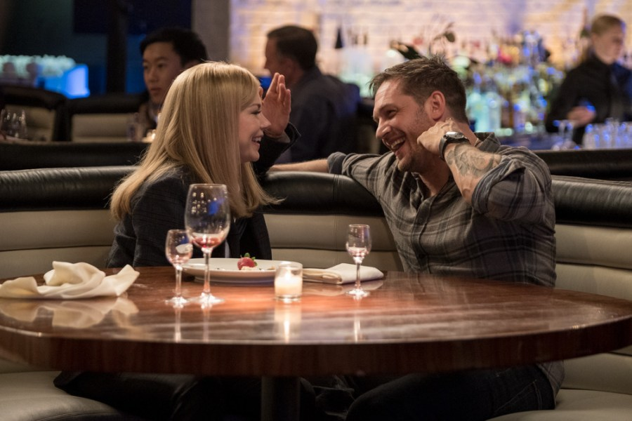 Tom Hardy and Michelle Williams star in VENOM | Credits: Columbia Pictures