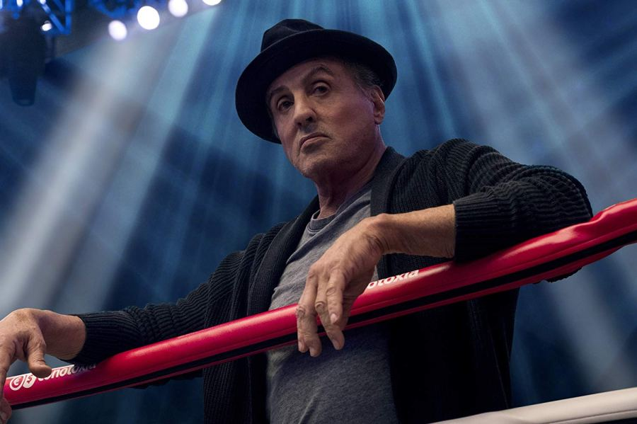 Slyvester Stallone is the father figure to Adonis Creed in Creed II. | Credit: Warner Bros Pictures | The Little Binger