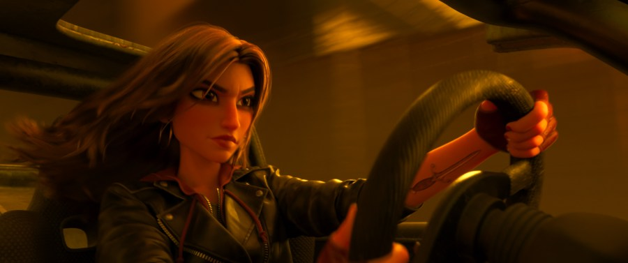 """Gal Gadot as the voice of Shank,""""Ralph Breaks the Internet"""" opens in U.S. theaters on Nov. 21, 2018. ©2018 Disney. All Rights Reserved. 
