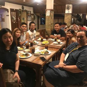 Bataan White Corals Beach Resort prepared a yummy dinner for us! | The Little Binger