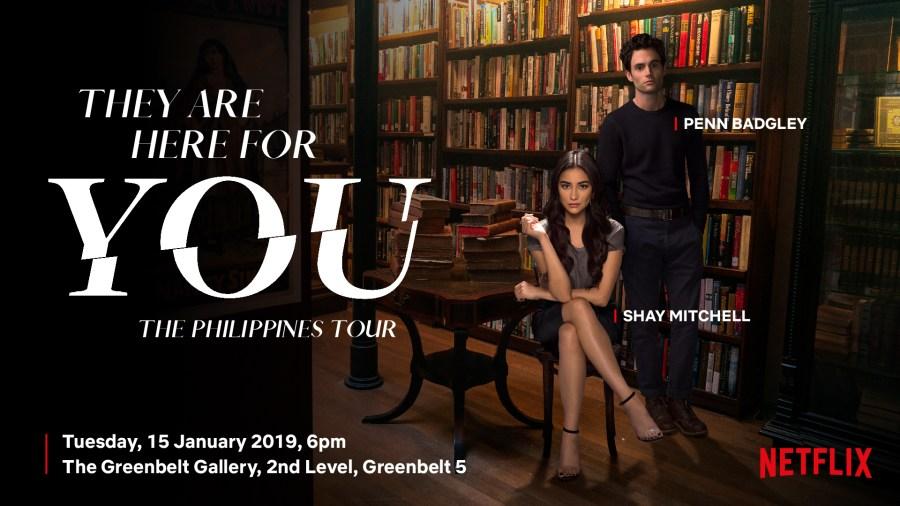 Netflix Original Series You Special Event in Manila