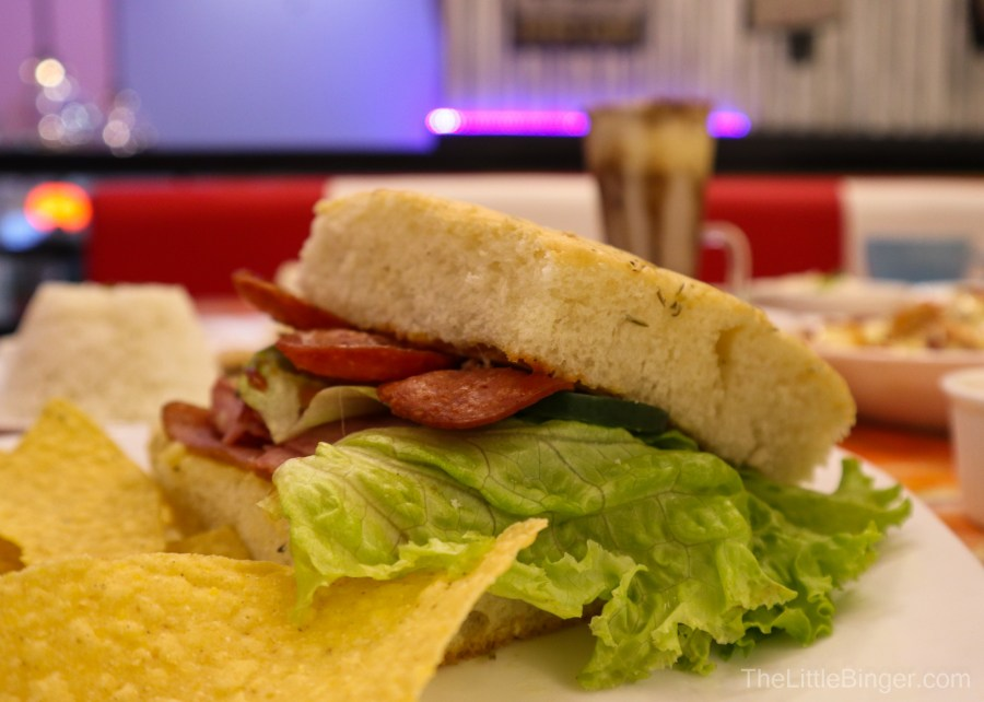 Arts and Food at Erin's Artists' Lounge and Cafe | The Little Binger