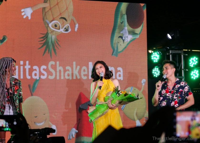 Sarah Geronimo introduces Fruitas' new campaign, Fruitas Shake Muna. | The Little Binger