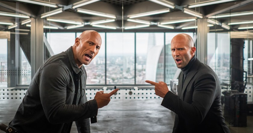Jason Statham and Dwayne Johnson rock in Fast & Furios: Hobbs and Shaw | The Little Binger | Credit: United International Pictures