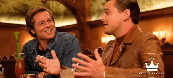 Leonardo DiCaprio and Brad Pitt star in ONCE UPON TIME IN HOLLYWOOD. | The Little Binger | Credit: Columbia Pictures