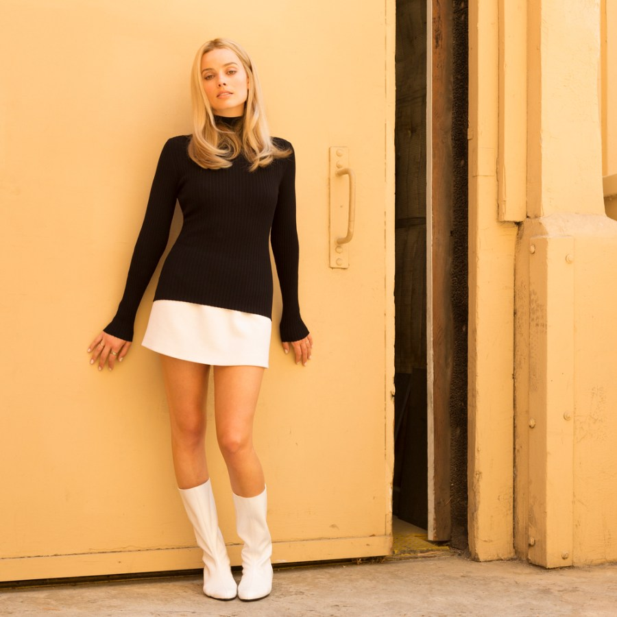Margot Robbie as Sharon Tate in Quentin Tarantino's Once Upon A Time... in Hollywood. | The Little Binger | Credit: Columbia Pictures #OnceUponATimeInHollywood @onceinhollywood
