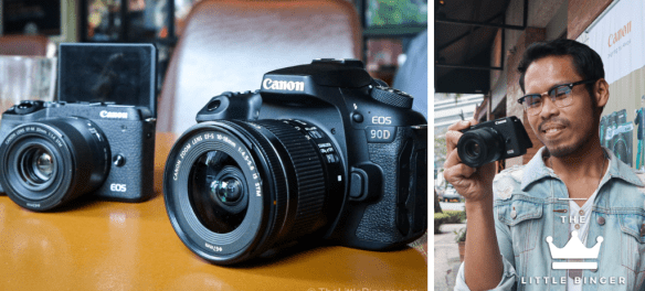 Experience speed and performance with Canon M6 Mark II and Canon EOS 90D. | The Little Binger