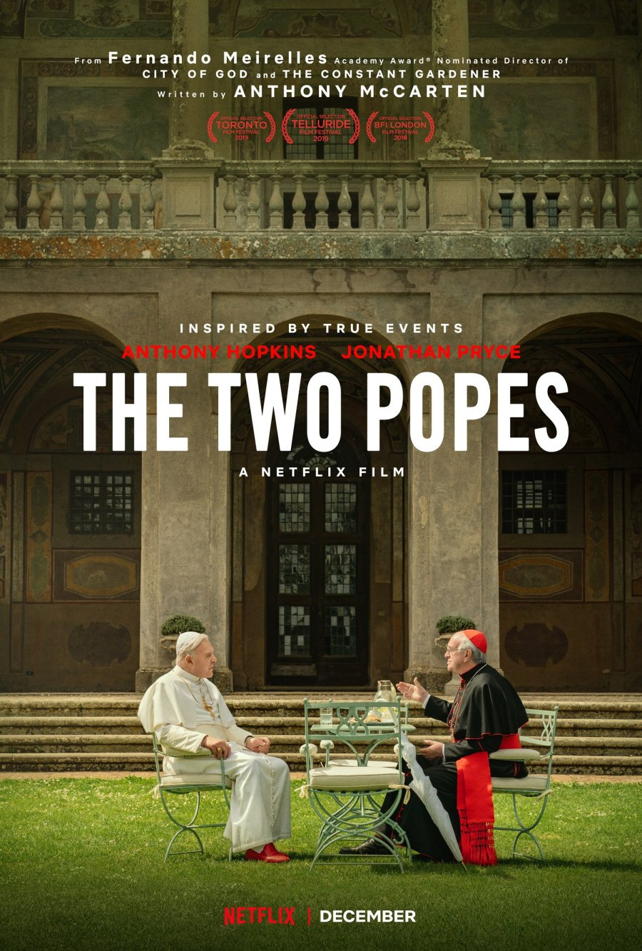 Two Popes Debuts at the 15th Cinema One Originals | Credit: Netflix
