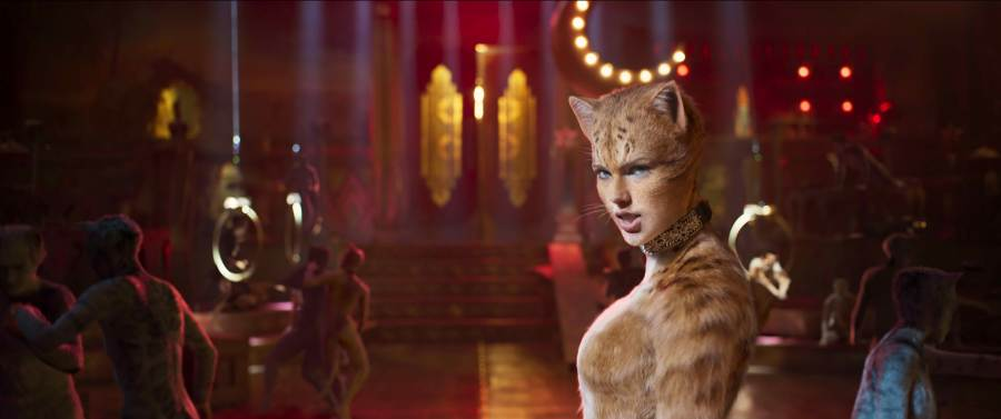 Taylor Swift as a Jellicle in Cats. | The Little Binger | Credit: United International Pictures
