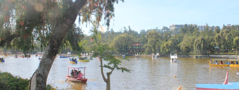 Burnham Park - Solo Backpacking in Baguio City - The Little Binger
