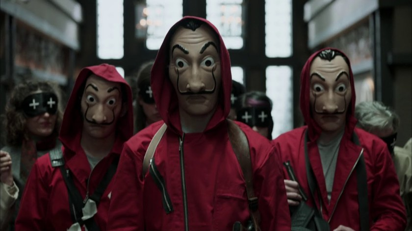 Money Heist / La Casa De Papel | 5 Netflix Series To Watch During the Lockdown | The Little Binger