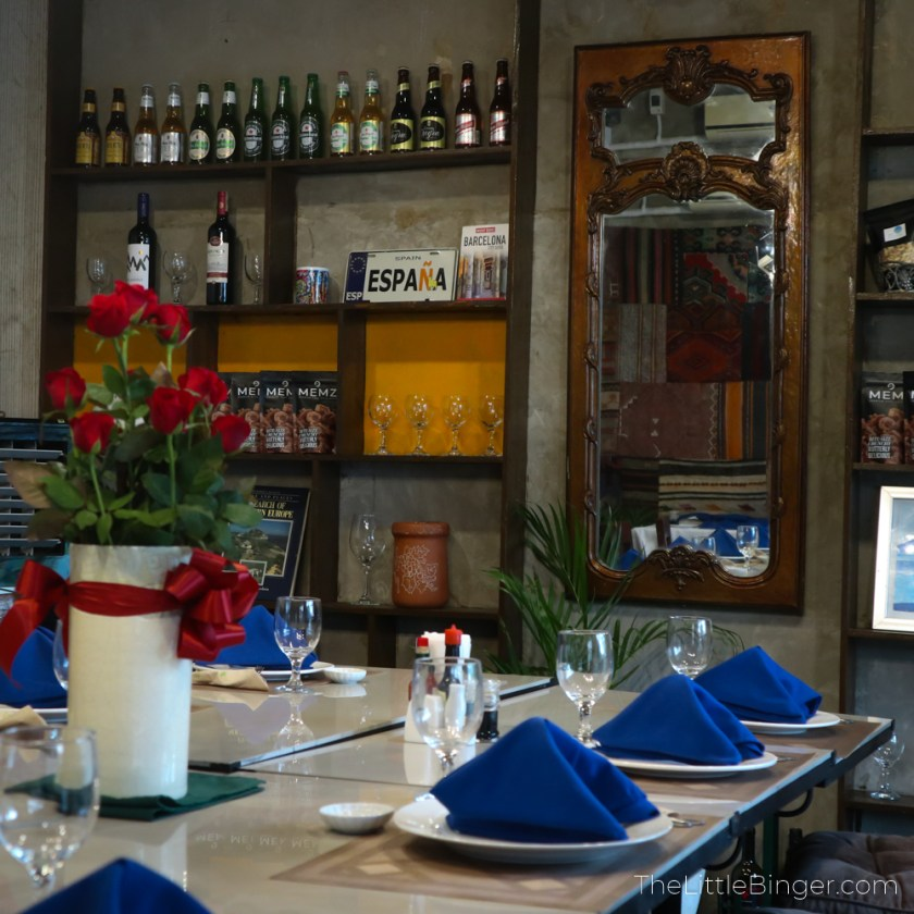 Experience an intimate dining experience at Galli Spanish Restaurant in Tagaytay. | The Little Binger