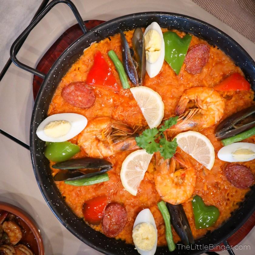 paella valenciana galli spanish restaurant tagaytay