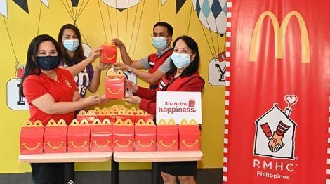 Donations made through Philippine Red Cross.   Make A Child Happy With Every McDonald's Happy Meal This Holiday   The Little Binger
